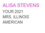 TIFFANY WELLS YOUR 2020  MRS. ILLINOIS AMERICAN